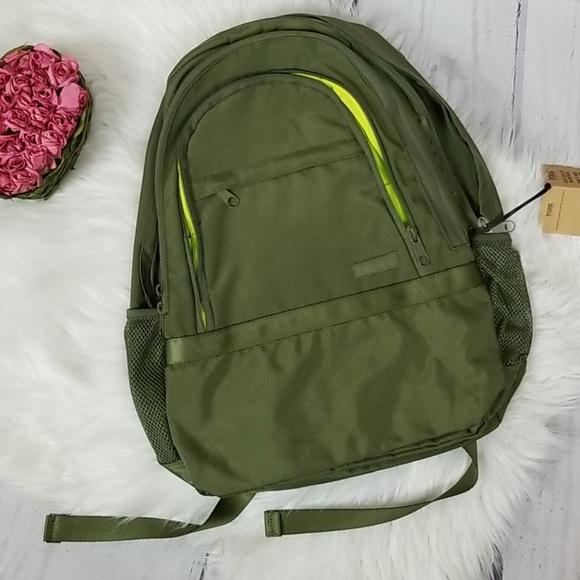 NEW PINK Victoria's secret Green Backpack